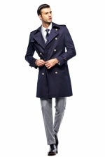trench coat (navy)