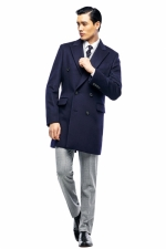 vip double coat (navy)