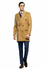 daily double coat (camel)